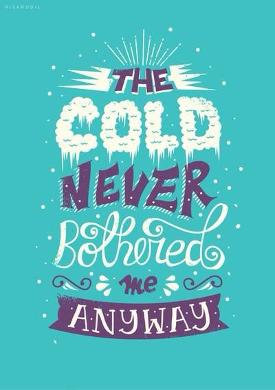 LOVE the colors & fonts in this design! #Disney #Lyrics #Design #Frozen