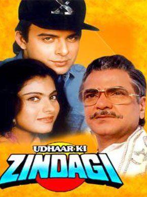 Udhaar Ki Zindagi Hindi Movie Online - Jeetendra, Moushumi Chatterjee, Kajol, Sujata Mehta, Tinnu Anand, Ravi Kishan and Shiva Rindani. Directed by K.V. Raju. Music by Anand Chitragupth. 1994 [U] ENGLISH SUBTITLE