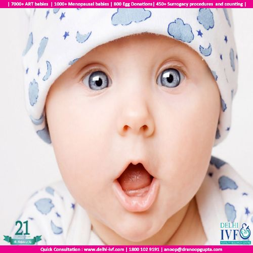 50% Mommy, 50% Daddy ; 100% PERFECT !!! Reach out to the experts at http://delhi-ivf.com/team.html #baby #ivf #ivfindia #delhiivf #parents #bliss