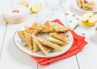 Samoussas pommes camembert