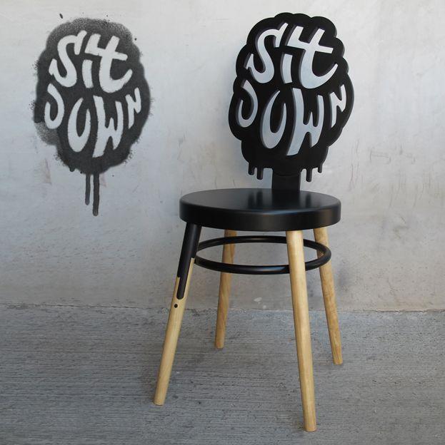 Uv Bar custom chair by Henriquez Lara Estudio