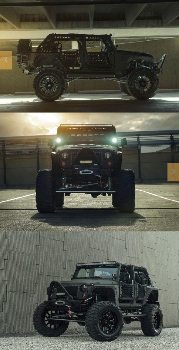 Full Metal Jacket Friday! Starwood Motors Special Edition Jeep Wrangler Conversion  #starwoodmotors #Jeep #JeepWrangler #JeepLife #CustomJeep #JeepMods #Offroad #oIIIIIIIo