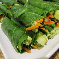 Green Wraps with Herb & Nut Cheeze  I am making this for lunch tomorrow--soaking the cashews now