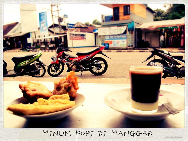 Minum Kopi Manggar