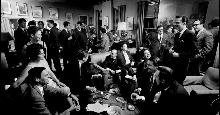 #MONSTASQUADD Last Call at George Plimpton's Party Pad