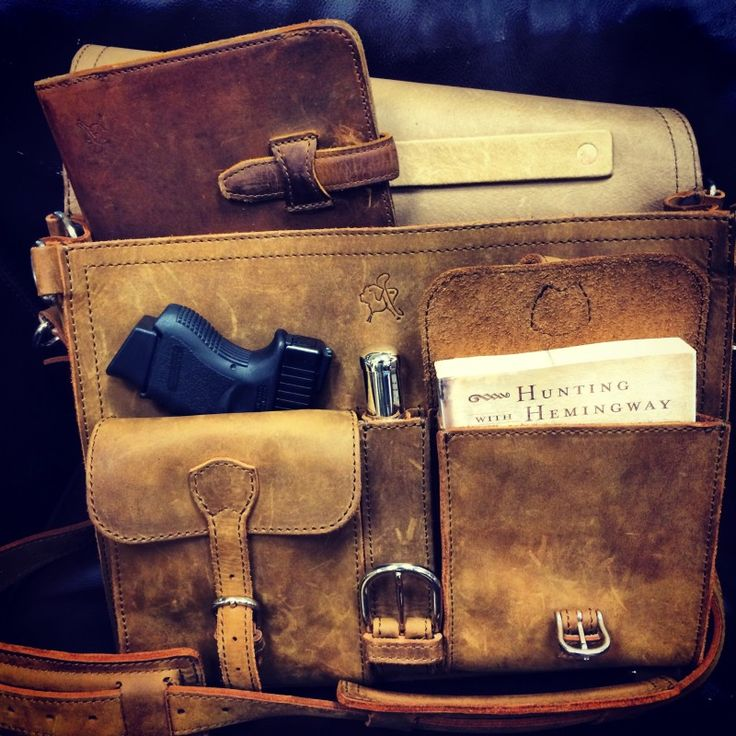 Thin Front Pocket Briefcase| Saddleback Leather Co.