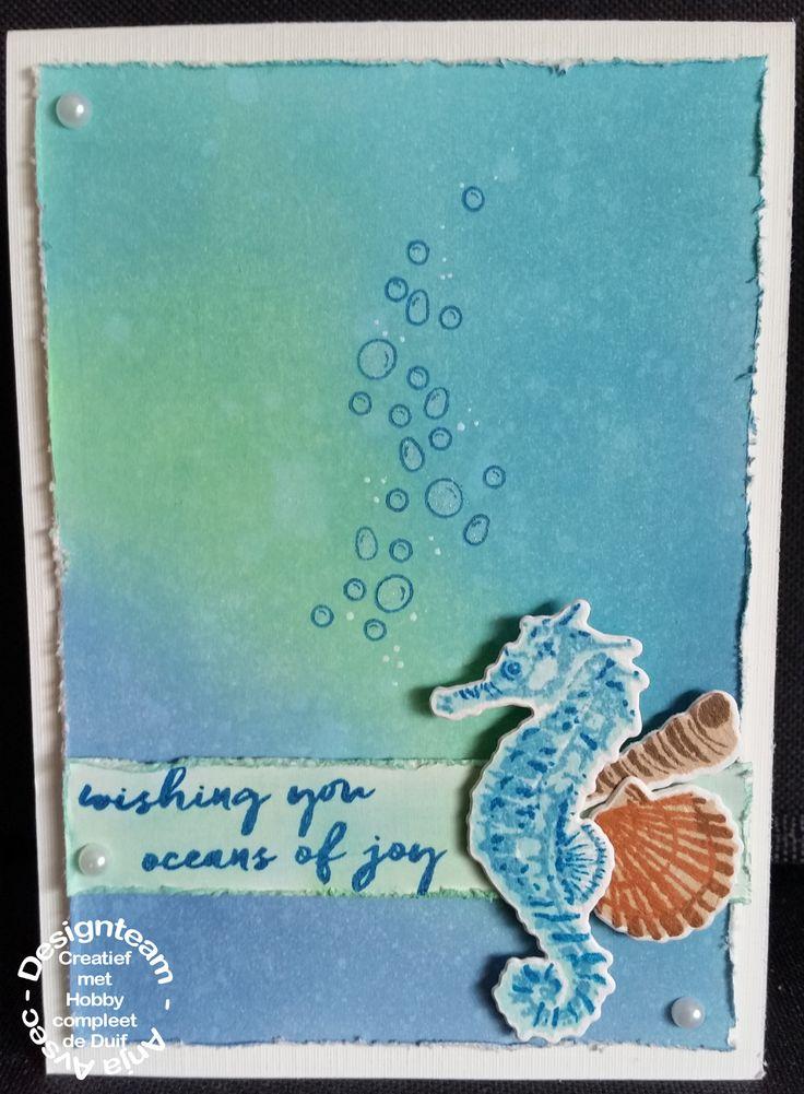 Hero arts - layering - seahorse
