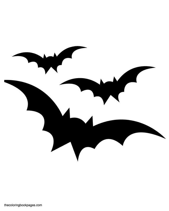 Halloween Stencils Bats