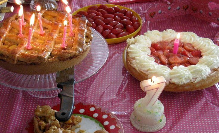 Homemade birthday cakes / Lekkere zelfgemaakte verjaardagstaarten