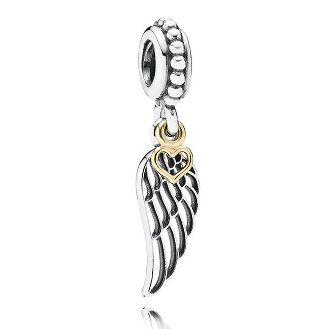 Pandora Love and Guidance Wing with 14K Dangle. On my wish list for Christmas.