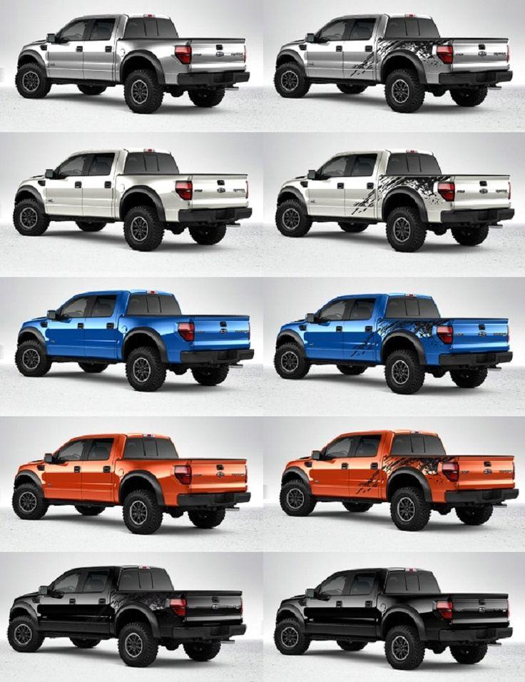 ford raptor colors 750 X 975 | Ford Raptor | Ford raptor ...