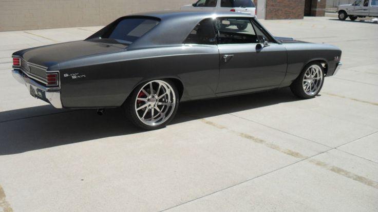 #BecauseSS 1967 Chevrolet Chevelle SS 454 Pro Touring grey budnik gasser wheels