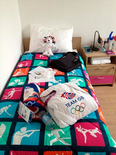 GB Athletes twitter pix: James Goddard