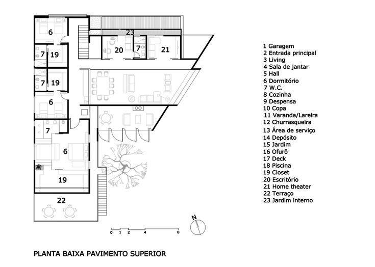 Jabuticaba House,Floor Plan