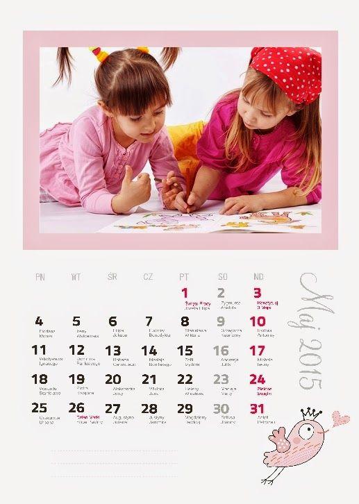 Fotokalendarz projekt z izziBook.pl