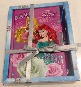 Confezione regalo diario segreto con lucchetto e penna PRINCIPESSE