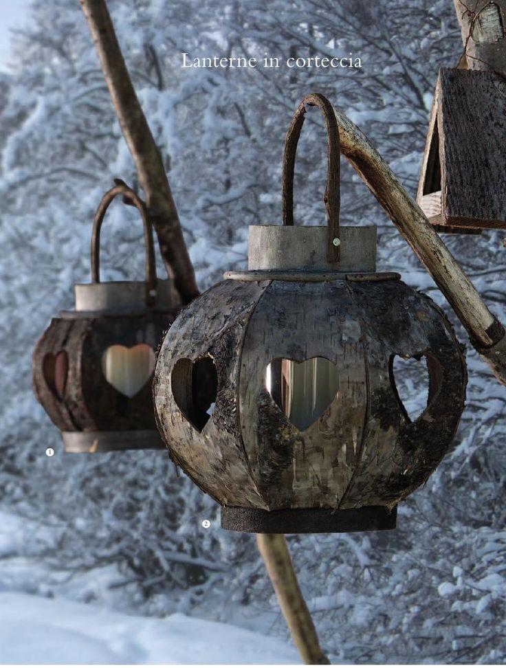 Lanterne rustiche!