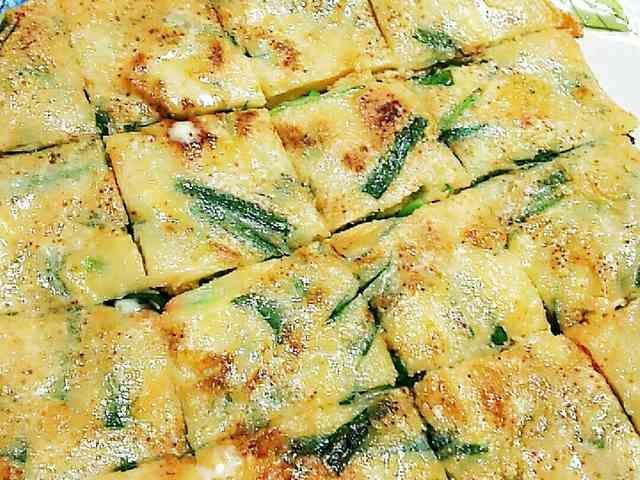 もっちり♪明太子チーズのチヂミの画像
