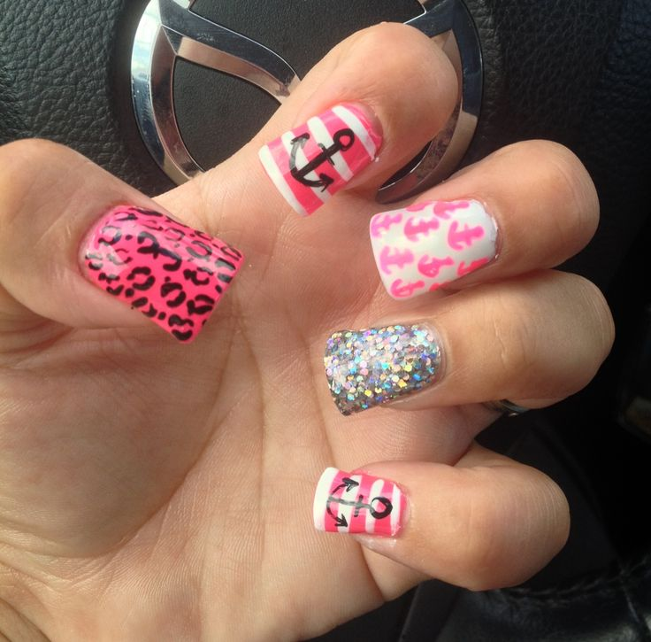 95 best Fancy nails images on Pinterest | Cheetah nails, Animal ...