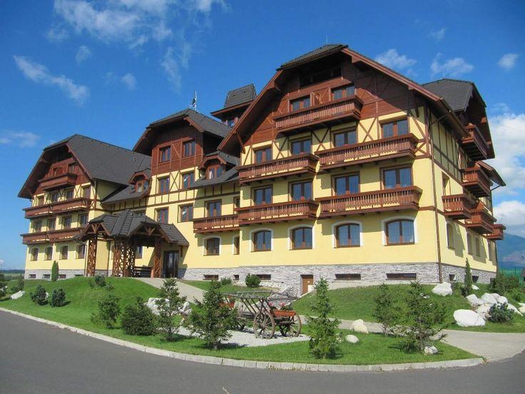 Hlavná budova - http://www.1-2-3-ubytovanie.sk/lomnica-c12