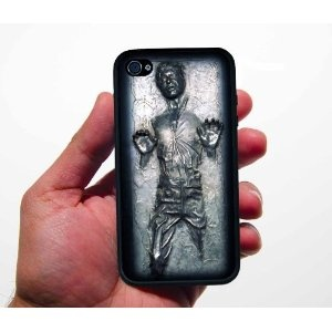Inspired Han in Carbonite Iphone 4/4s Case