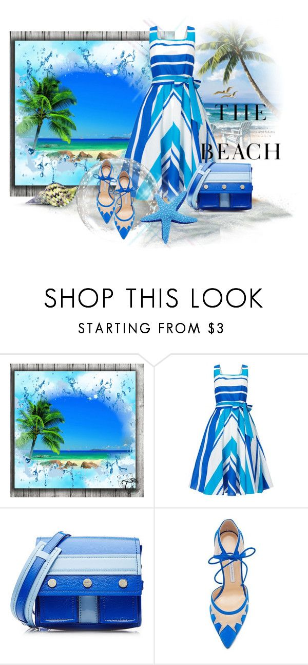 """Tropical Getaway"" by neverboring ❤ liked on Polyvore featuring Phase Eight, Kenzo, Bionda Castana, H&M, tropical and beach"