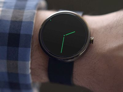 Moto 360 Reminder Concept [Animated]