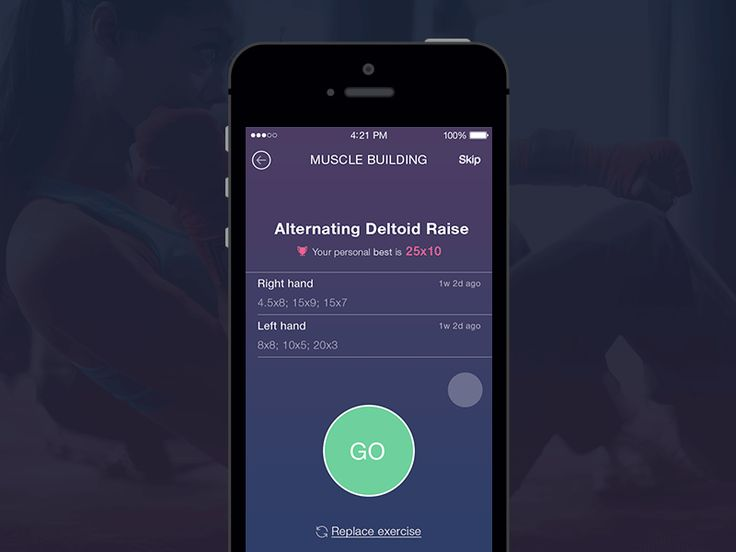 Hi guys! I am new to Dribbble and happy to present you my first work - a concept for a fitness tracker app Timer screen. Hope you enjoy the animation! Do some sport and enjoy your life ) Behance |...