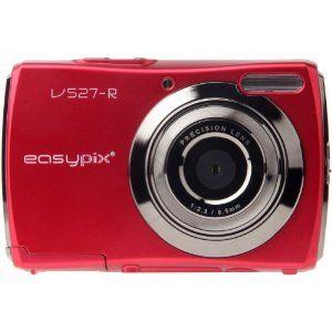 Easypix V527-R - Cámara Digital Compacta, 12 MP (2.7 pulgadas)