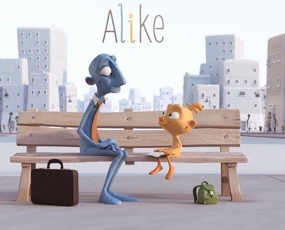 Alike : court métrage touchant qui nous rappelle qu'il faut écouter son coeur  Trouvez encore plus de citations et de dictons sur: http://www.atmosphere-citation.com/proverbe-chinois/article/alike-court-metrage-a-voir.html?