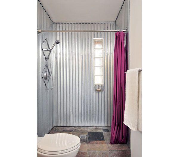 25 best ideas about galvanized shower on pinterest. Black Bedroom Furniture Sets. Home Design Ideas