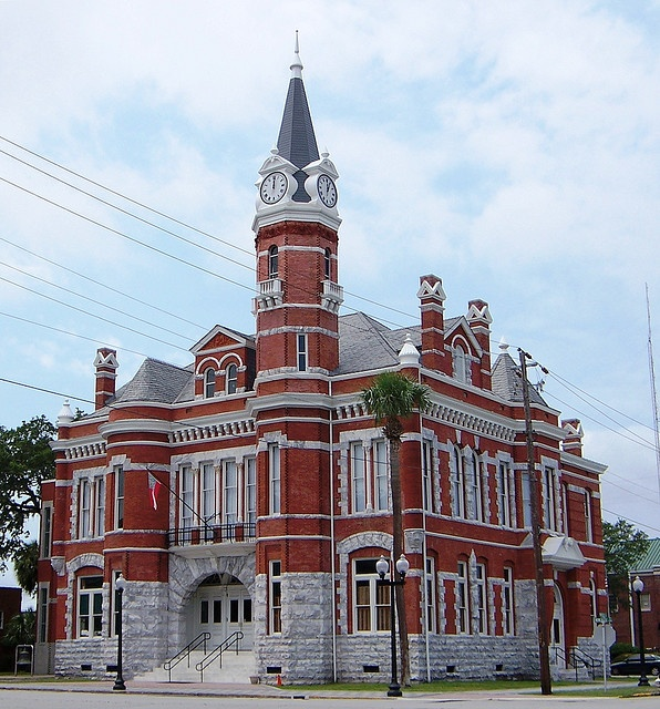 Old City Hall In Historic Downtown Brunswick, GA. Where I