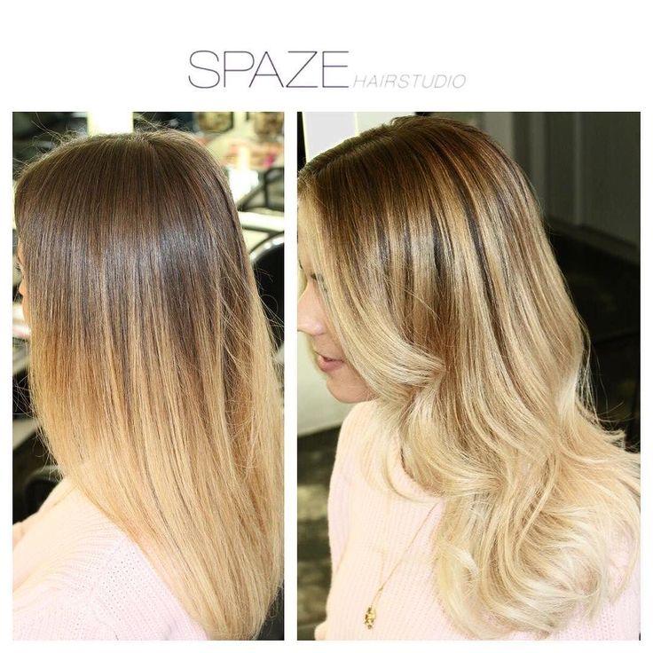 Balayage frisch hochgezogen#spazehairstudio#spaze#beforeandafter#light#balayage#balayageblonde#best#hairdresser#niderdörfli#zurich#kevinmurphy#wella#olaplex#freshcolor#instastyle#instagood#wavyhair#