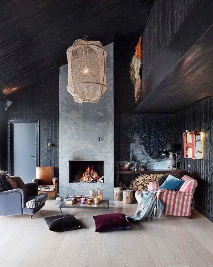 """43 Likes, 1 Comments - INTERIØR Magasinet (@interior_magasinet) on Instagram: """"Vi er på hytta hos @jorunninghilleri - ta en liten sniktitt før bladet kommer #13november…"""""""