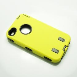 Robot Plastic hard back case Skin for IPhone 4G