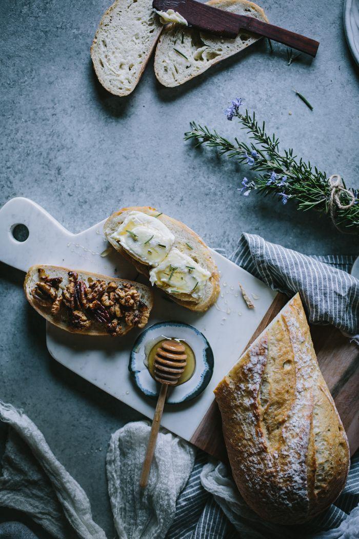 Honey, Rosemary, Walnut, & Bijou Grilled Cheese by Eva Kosmas Flores | Adventures in Cooking