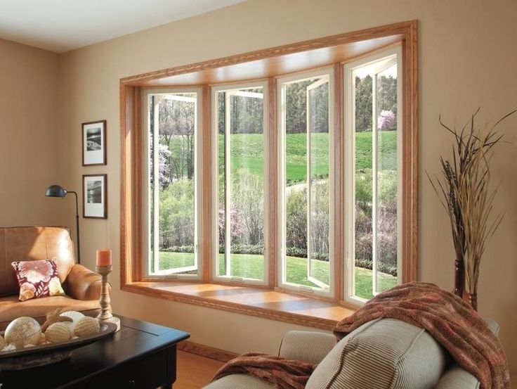 12 best bay window images on pinterest bow windows bay for What to put in front of a bay window