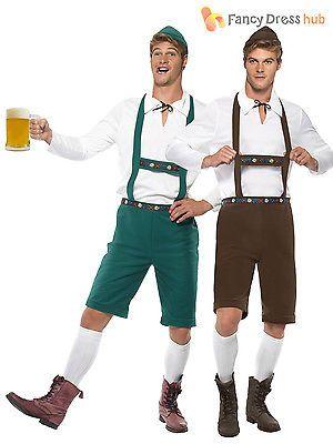 Mens #oktoberfest bavarian beer german #lederhosen fancy dress #costumes outfit, View more on the LINK: http://www.zeppy.io/product/gb/2/400888644313/