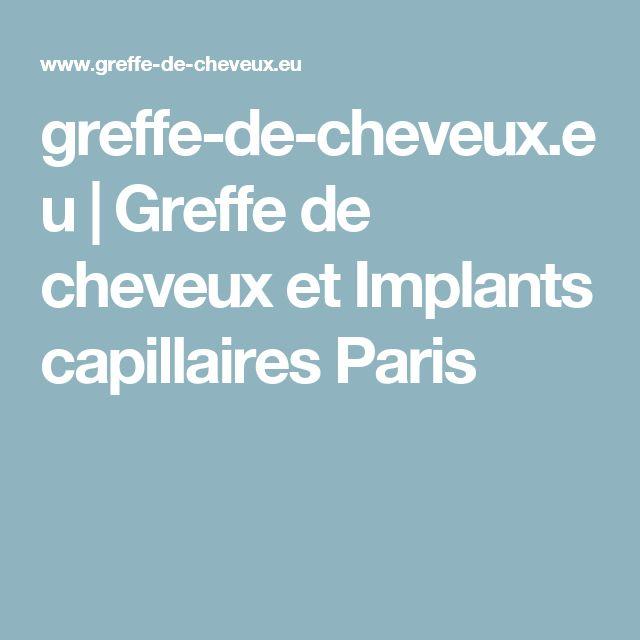 greffe-de-cheveux.eu   Greffe de cheveux et Implants capillaires Paris
