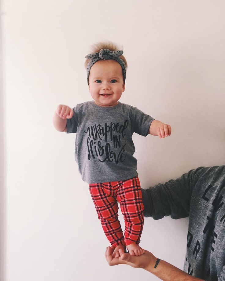 """I'd like you all to meet my daughter - June """"I-always-look-like-I-just-got-shocked"""" Mousetis!  Thanks for the great shirt for my little one @wildlyloved! #dadlife #lovecarters"""