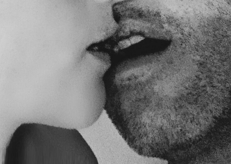 One good kiss....