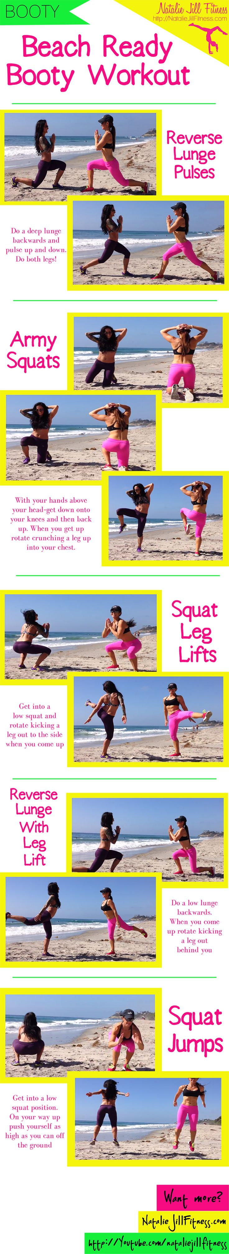 Beach Booty!! Beach booty workout with the Betty Rocker. View the FULL workout HERE: http://nataliejillfitness.com/beach-booty-workout/
