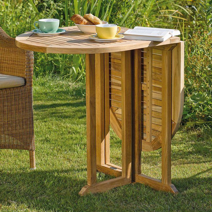 Holz Klapptisch Balkony: Der Klappbare Tisch Aus Akazienholz Passt Sich Dem  Vorhandenen Platz Optimal