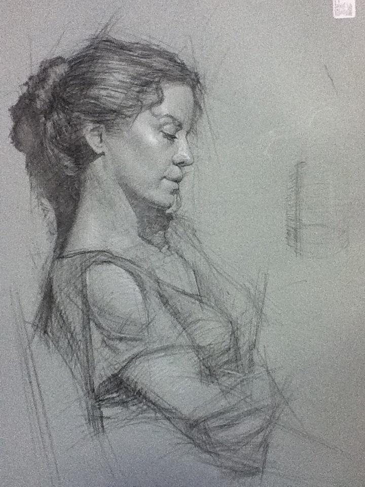Classical Portrait Drawing | Santa Monica | Daniel Bilmes | Start Date: April 24, 2013 More info: http://laafa.org/art-classes/classical-portrait-drawing-santa-monica-daniel-bilmes/