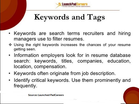 Use Tag Cloud for to Create a Best Resume Resume Writing \ Cover - Keywords To Use In A Resume
