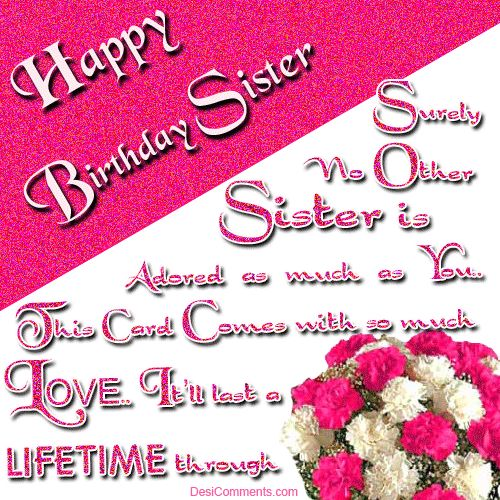 Best 25 Anniversary wishes for sister ideas – Birthday Greetings to a Sister Quotes