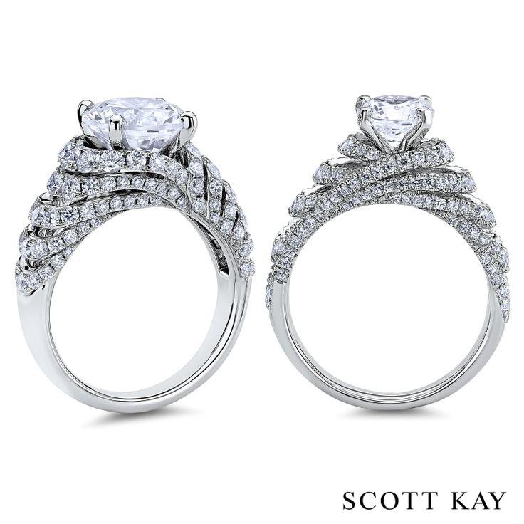 #ScottKay #engagementrings #weddingrings www.jsjewelrystudio.com
