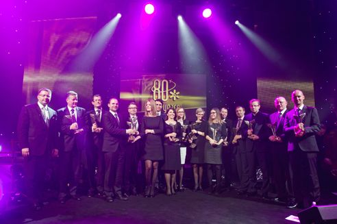 """Chopin Airport awards """"Wings of Success"""" 