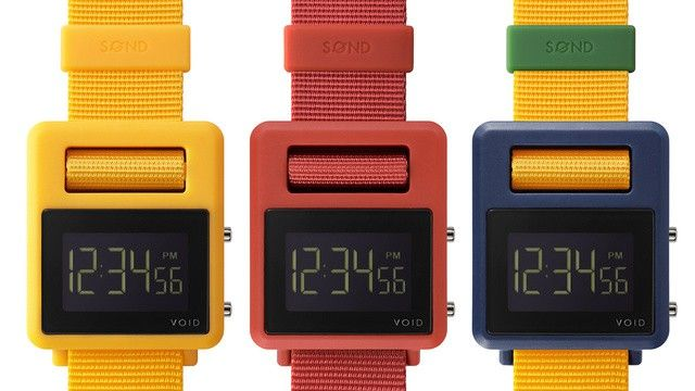 VOID Watches SOND a retro colorful line of wirstwatches http://voidwatches.com/store/watches 95$
