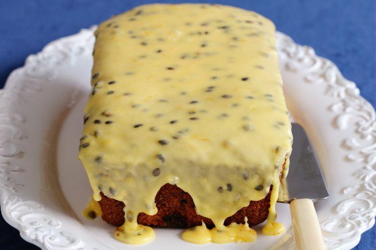 Passionfruit And Ginger Teacake Recipe - Taste.com.au